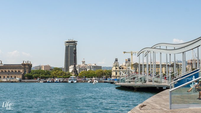Barcelona Hafengebiet