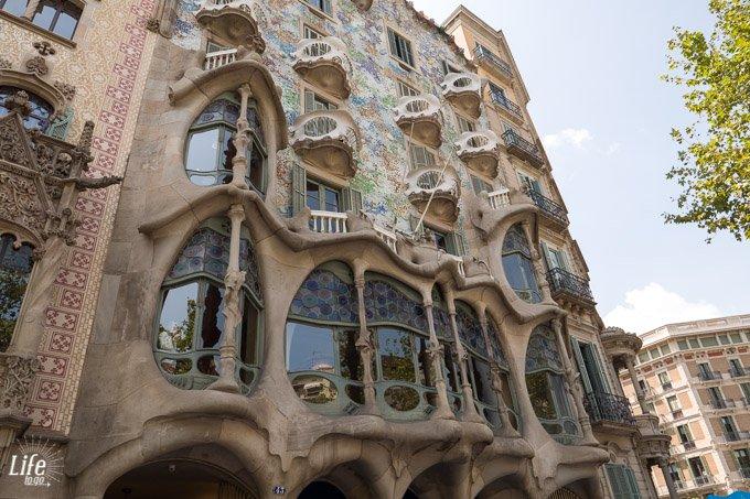 Frontansicht Casa Batllo Barcelona