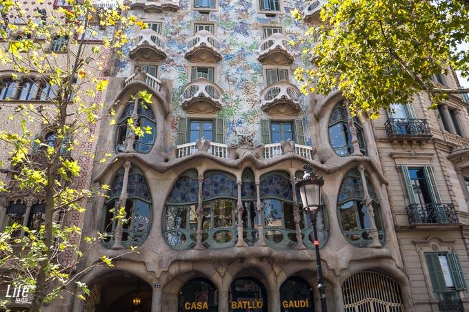 Antoni Gaudi Hausfassade Casa Batllo