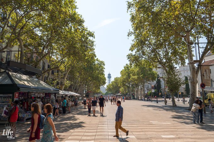 Barcelonas Ramblas
