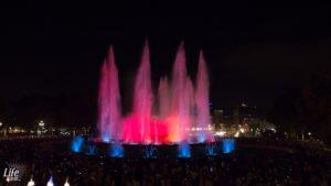 Wasserspiele Font Magica Barcelona