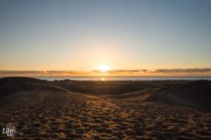 Sonnenaufgang Maspalomas Dünen