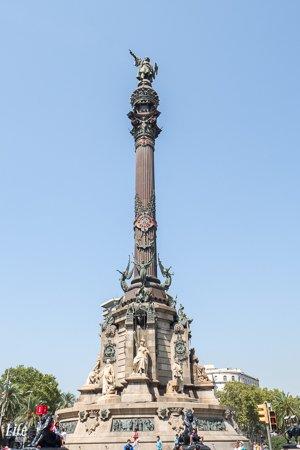Mirador de Colom Kolumbussäule Barcelona