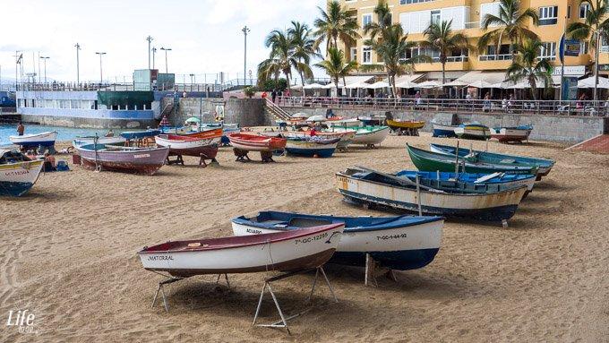 Fischerboote Las Palmas Gran Canaria