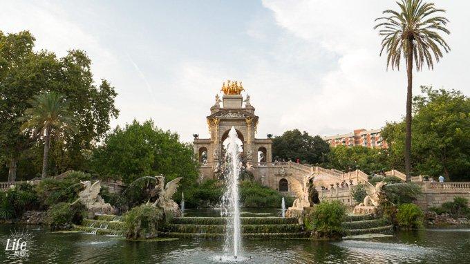 Brunnen Parc de la Ciutadella