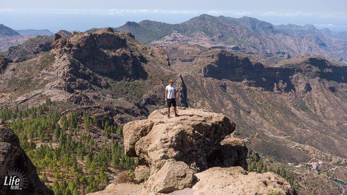 Roque Nublo Gran Canaria Aussicht