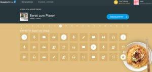 Rosetta Stone App Thema Essen