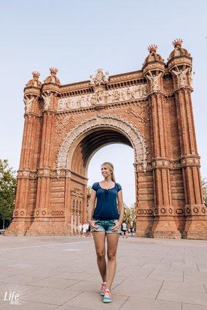 Barcelona Triumphbogen