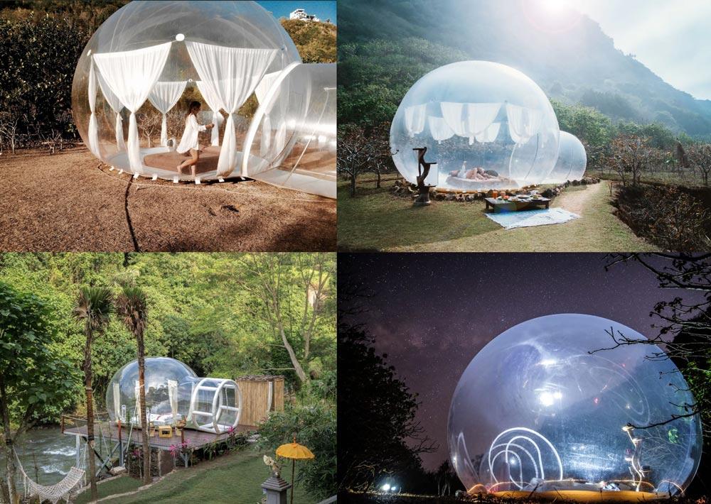 Airbnb Bubble Bali