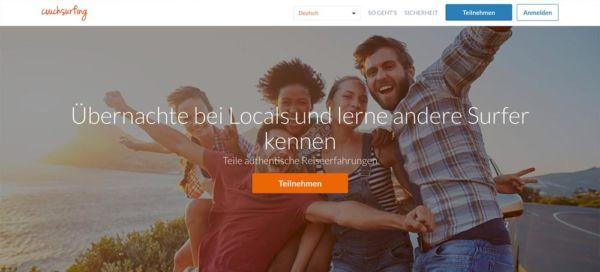 Couchsurfing beste kostenlose Unterkünfte
