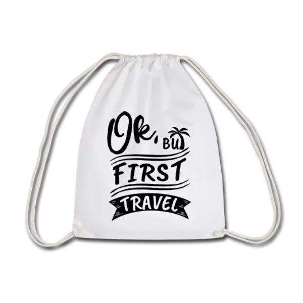 Ok But First Travel - Life to go Beutel