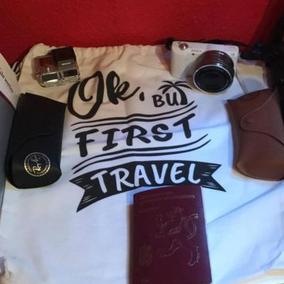 Life to go T-Shirt 2 - Ok, But First Travel
