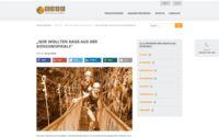 Onlinemedien Bericht über Life to go auf BDAE.com