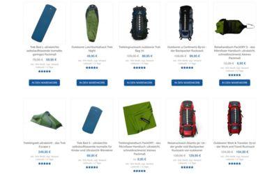 Reise Rucksäcke und mehr Weltreise Ausrüstung im Life to go Weltreise Shop