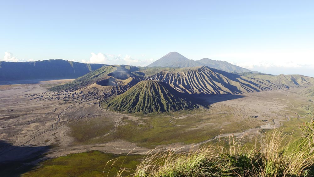 Bromo Vulkan auf Java - Idonesien