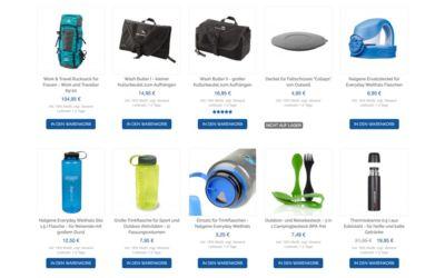 Kulturbeutel, Trinkflaschen und mehr Weltreise Ausrüstung im Life to go Weltreise Shop