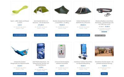 Zelte und mehr Weltreise Ausrüstung im Life to go Weltreise Shop