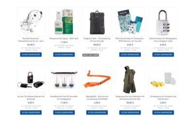 Kofferschlösser, Pacsafe und mehr Weltreise Ausrüstung im Life to go Weltreise Shop