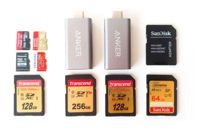 Weltreise Kamera Ausrüstung - Speicherkarten
