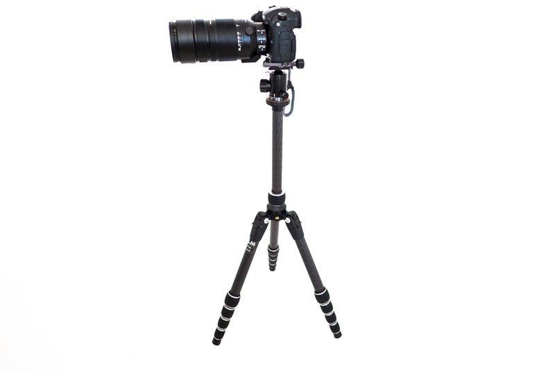 Weltreise Kamerastativ und Panasonic Lumix GH5 100-400mm