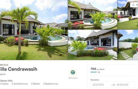beste Unterkunft auf Bali suchen und finden Anleitung