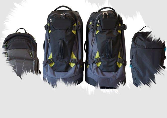 Packliste Weltreise Gepäck