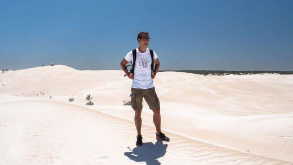 Lancelin Sanddünen in Westaustralien