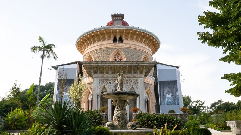 Monserrate Palast in Sintra