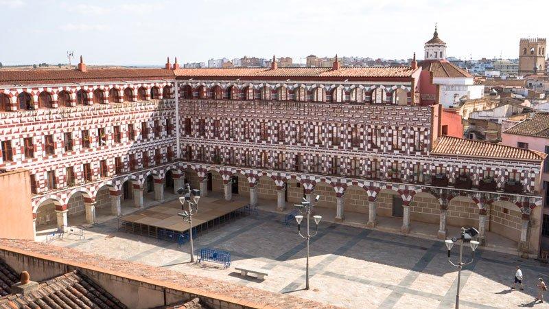 Plaza Alta Badajoz - der hohe Platz