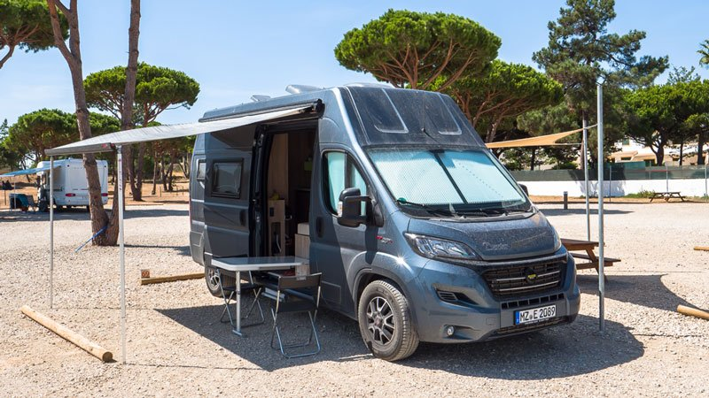 Camping in Falesia Portugal