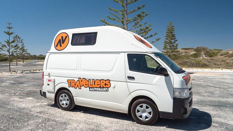 Travellers Autobarn Westaustralien Roadtrip Campervan