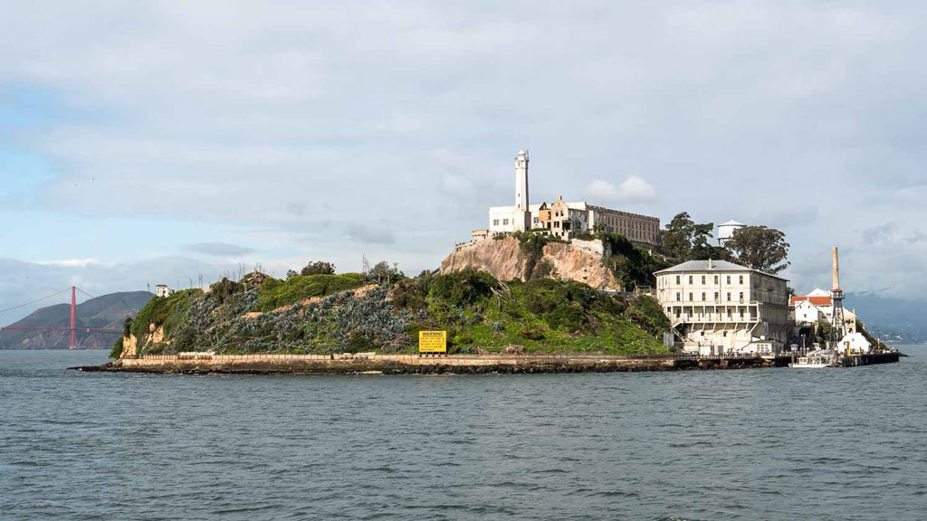 Alcatraz Gefängnisinsel