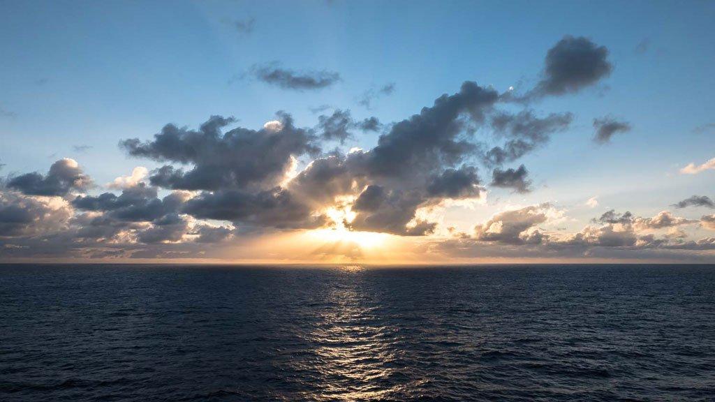Balkonkabine MSC Magnifica Aussicht Meer