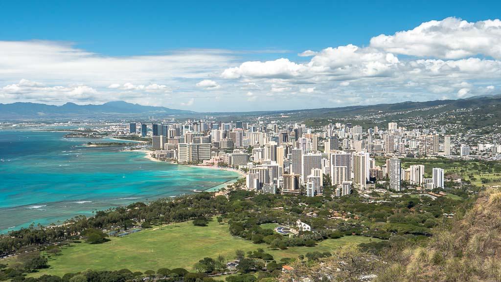 Diamond Head Aussicht Honolulu