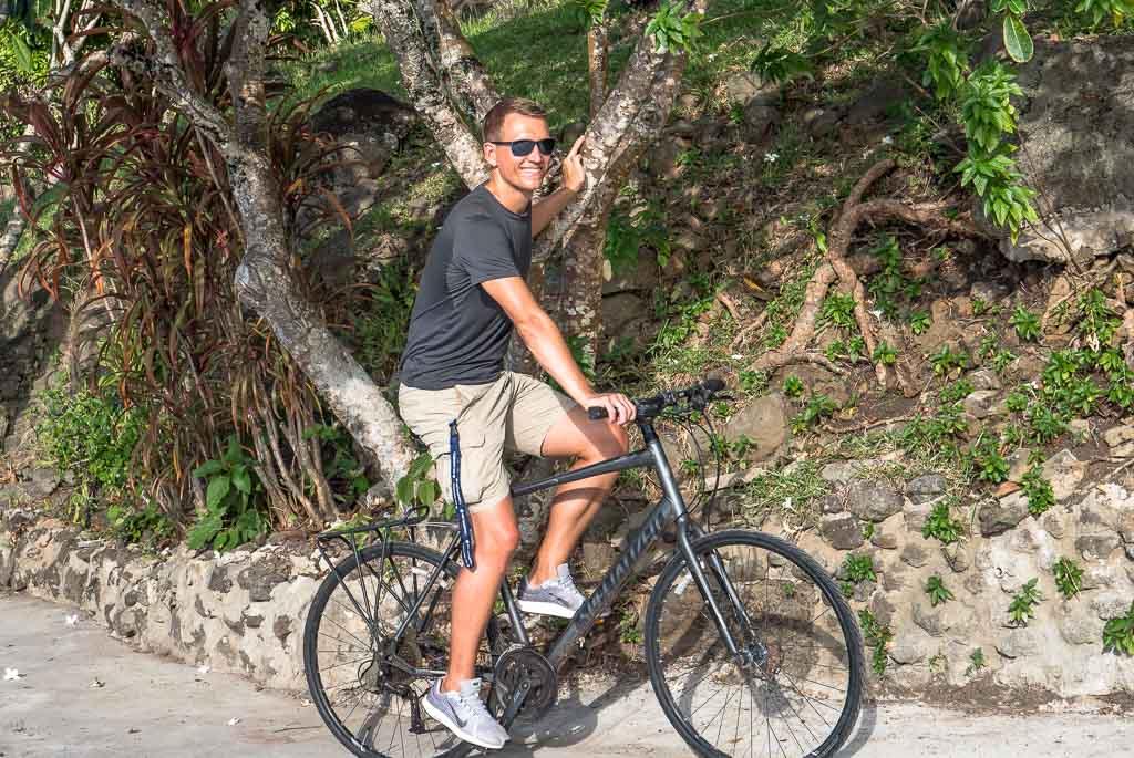 kostenloses Fahrrad Bora Bora Unterkunft