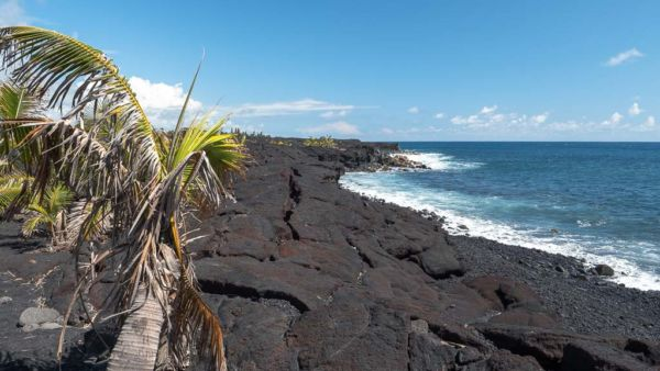 Kaimu Black Sand Beach Hilo