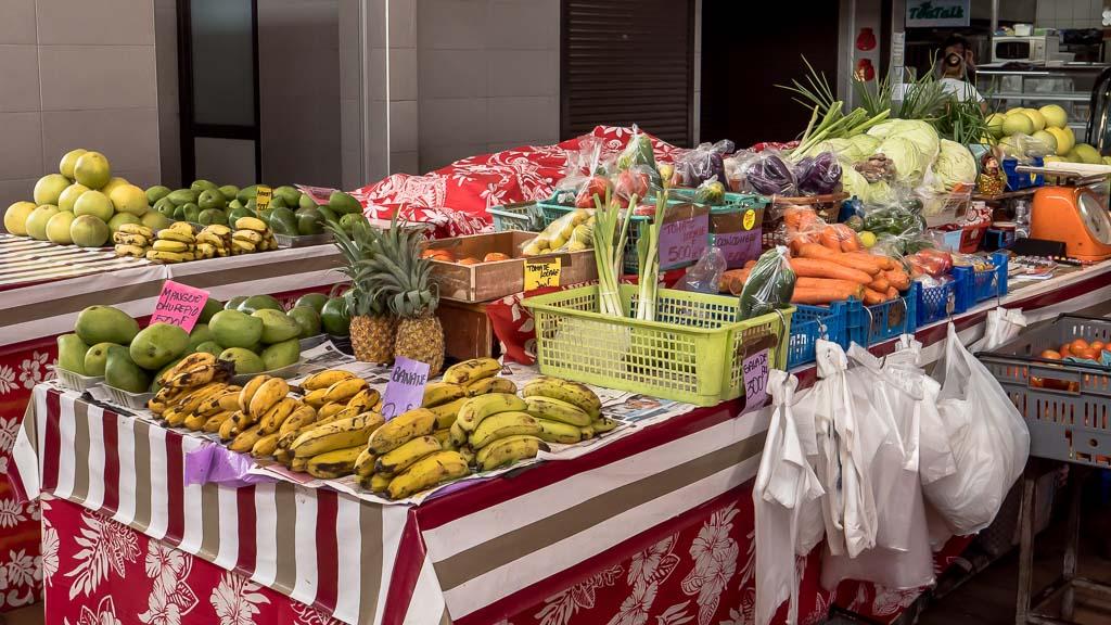 Obst und Früchte kaufen Papeete, Tahiti