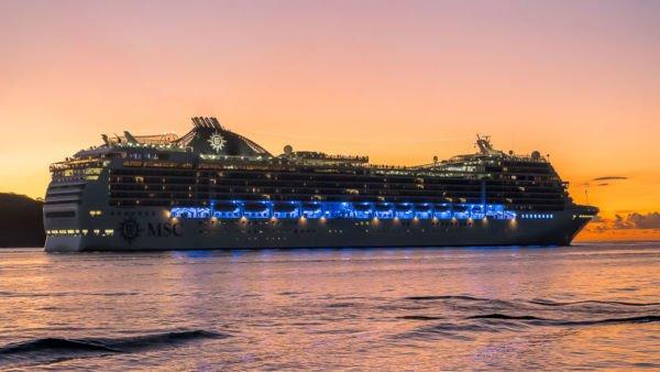 Bora Bora MSC World Cruise MSC Magnifica Kreuzfahrtschiff