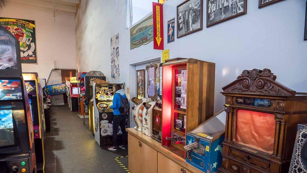 Spielautomaten Musee Mecanique