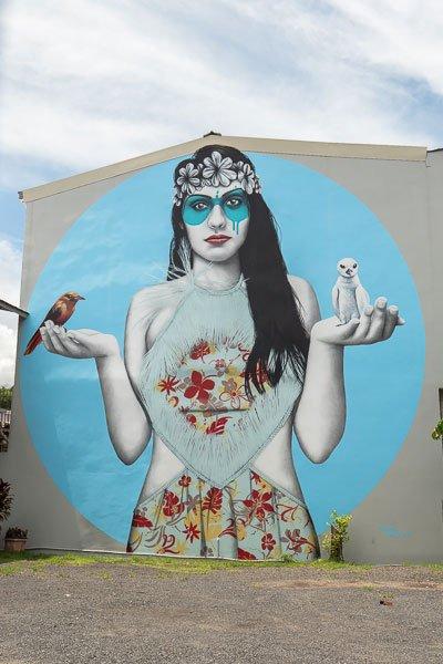 Graffiti Papeete Tahiti