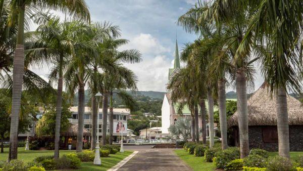 Park in Papeete, Tahiti