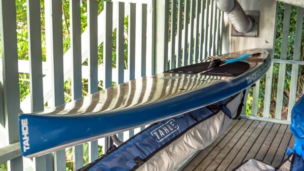 Bora Bora Unterkunft mit Standup Paddleboards