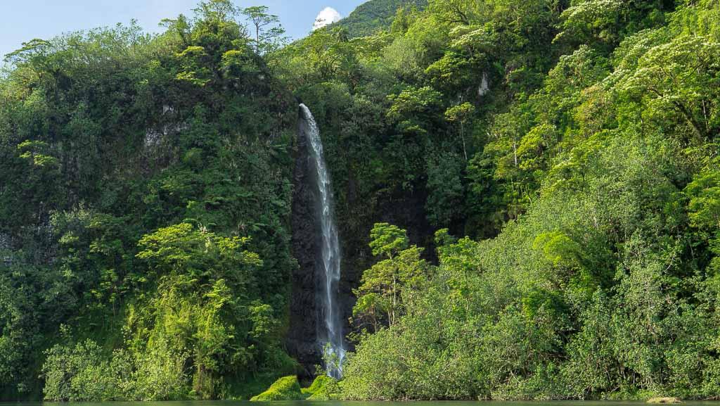 Wasserfall Valley of Papenoo - Papeete 4x4 Island Tour