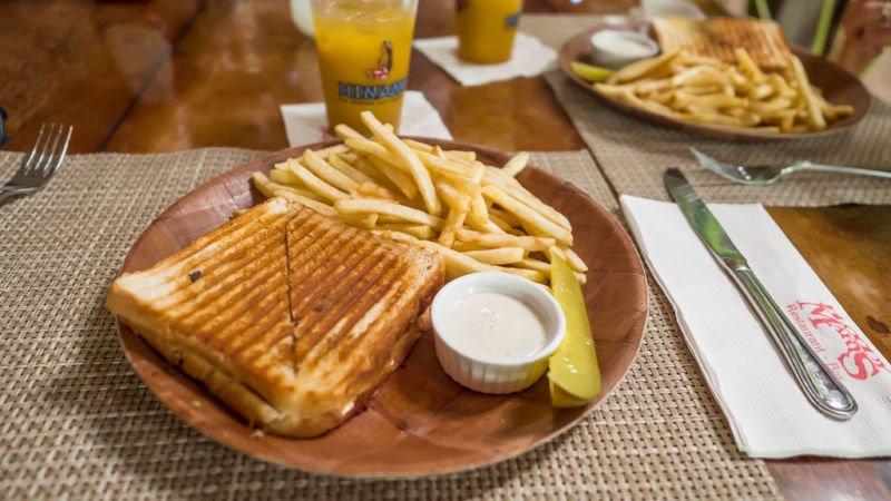Bloody Marys Essen Bora Bora Restaurant