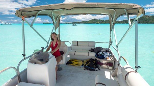 Boot miete Bora Bora