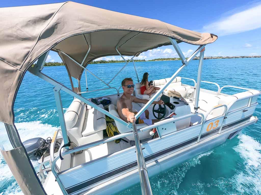 La Plage Bora Bora boot mieten