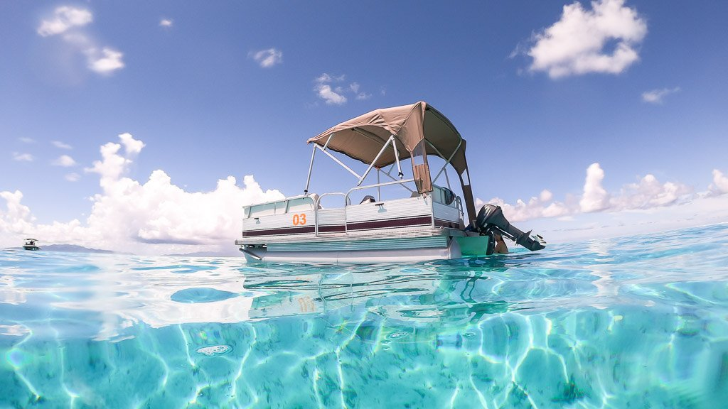 Boot mieten auf Bora Bora