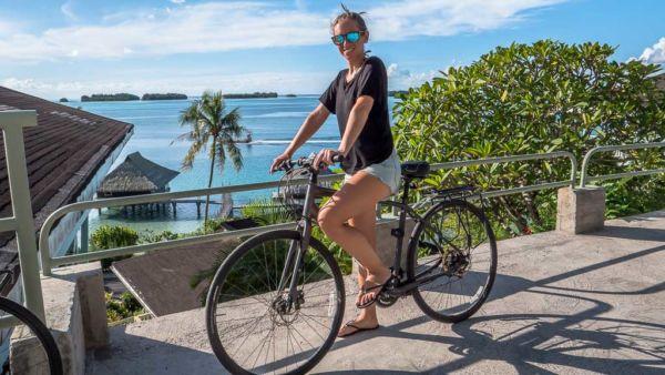 Fahrrad Bora Bora