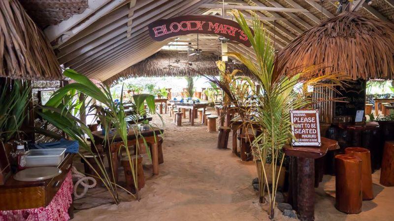 Bloody Marys Bora Bora Restaurant