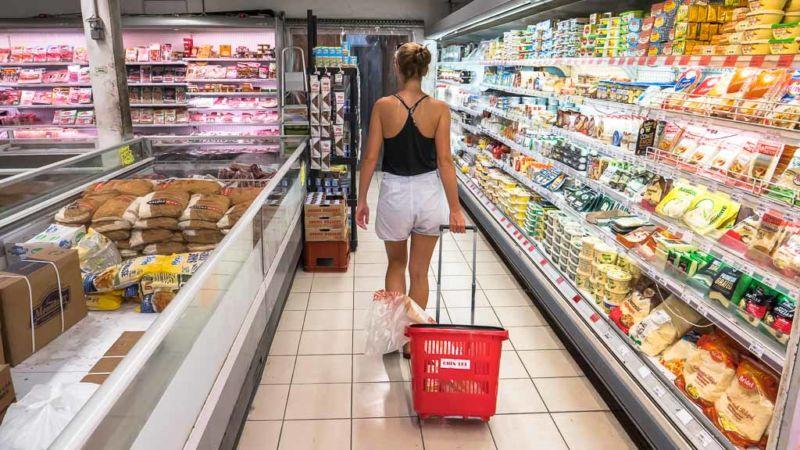 Supermarkt Bora Bora